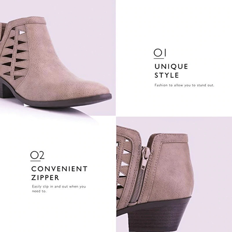 small heel boots for sale
