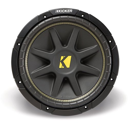 Kicker 10C124 Comp 12-Inch Subwoofer 4 SVC (front)