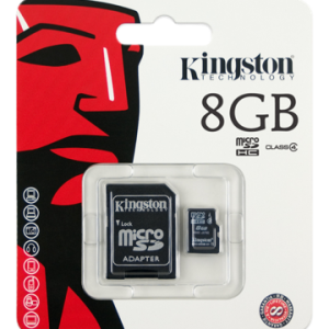Kingston 8GB Micro SD (Class 4)