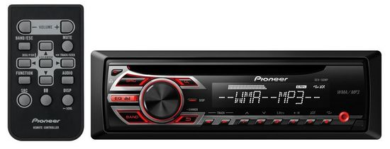 Pioneer DEH-150MP Car Stereo With MP3 Playback (win control)