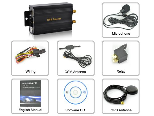 Vehicle Tracking Device System (components)