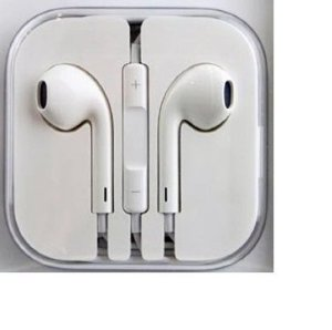 iPhone Earpbuds with Mic (white)