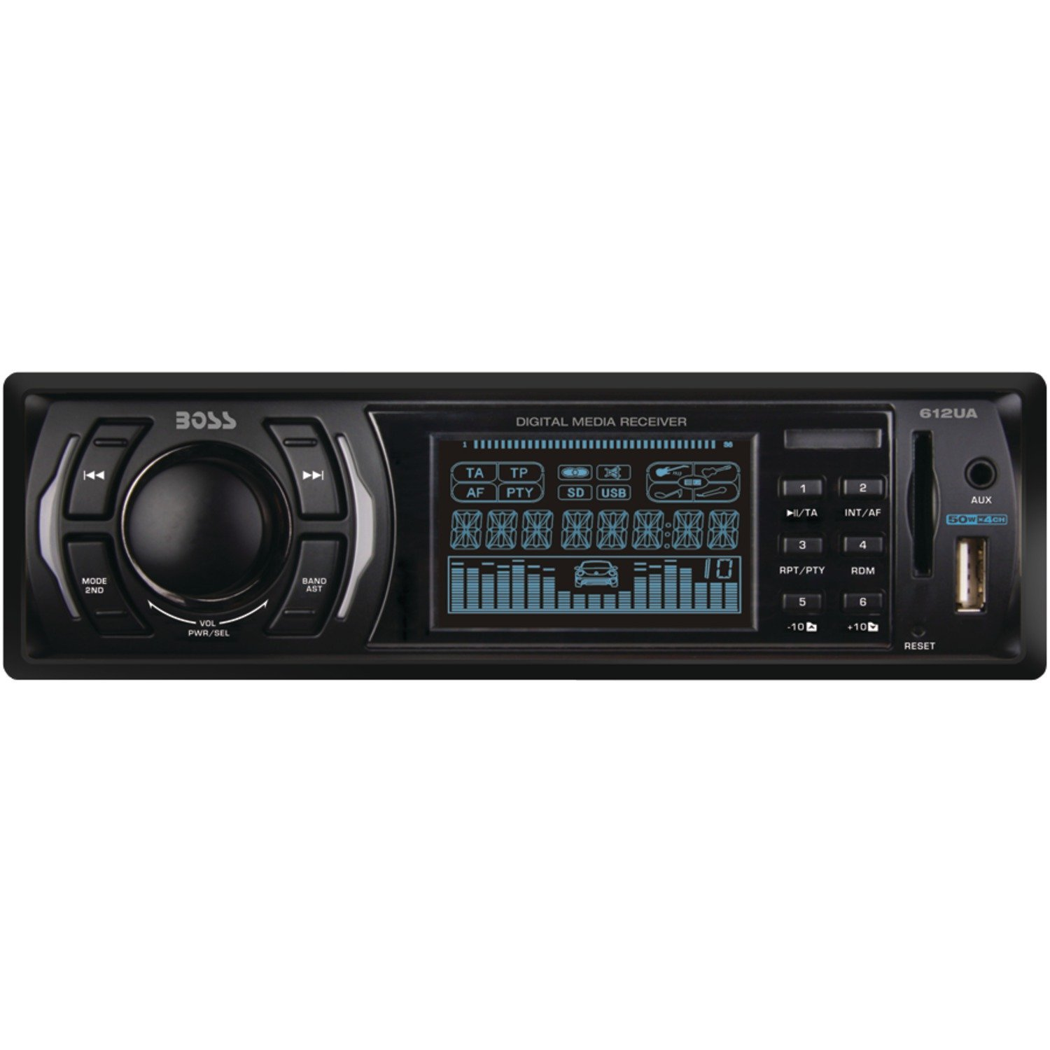 boss 612ua mp3 flash drive aux am fm radio car stereo for sale in jamaica. Black Bedroom Furniture Sets. Home Design Ideas