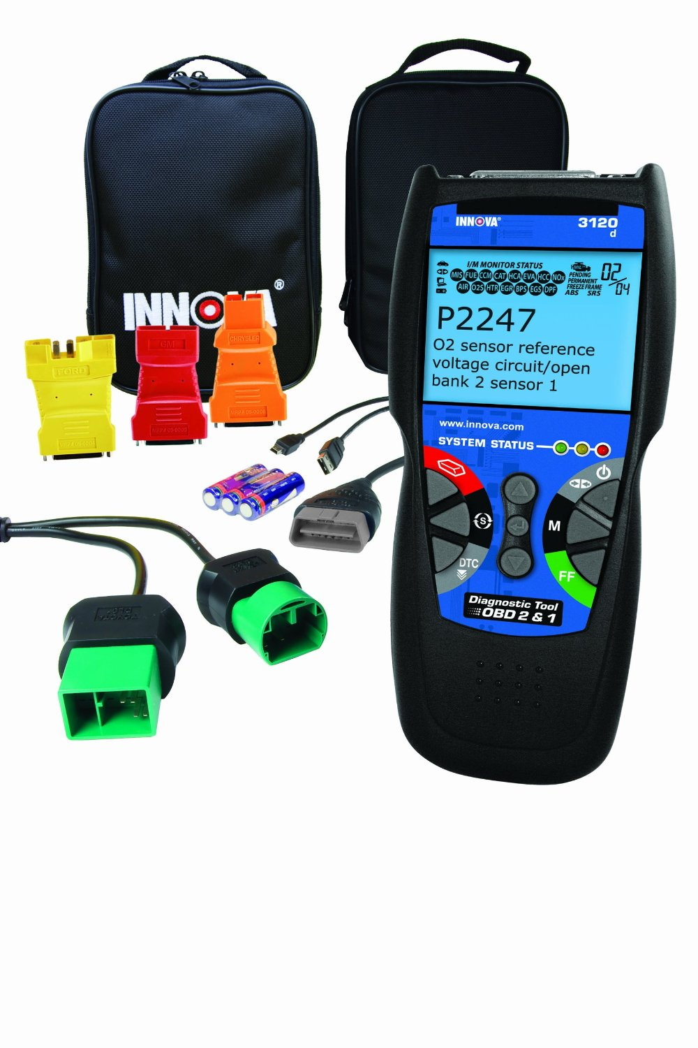 Innova 3120 Diagnostic Scan Tool Code Reader For Obd1 And