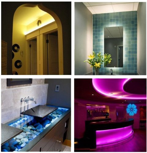 Waterproof color changing rgb led strip light kit with control waterproof color changing rgb led strip light aloadofball Image collections