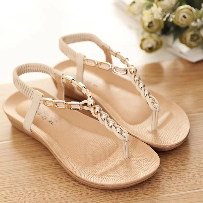 9ba8d378a69 Women s String Bead Flat Sandals for sale in Jamaica