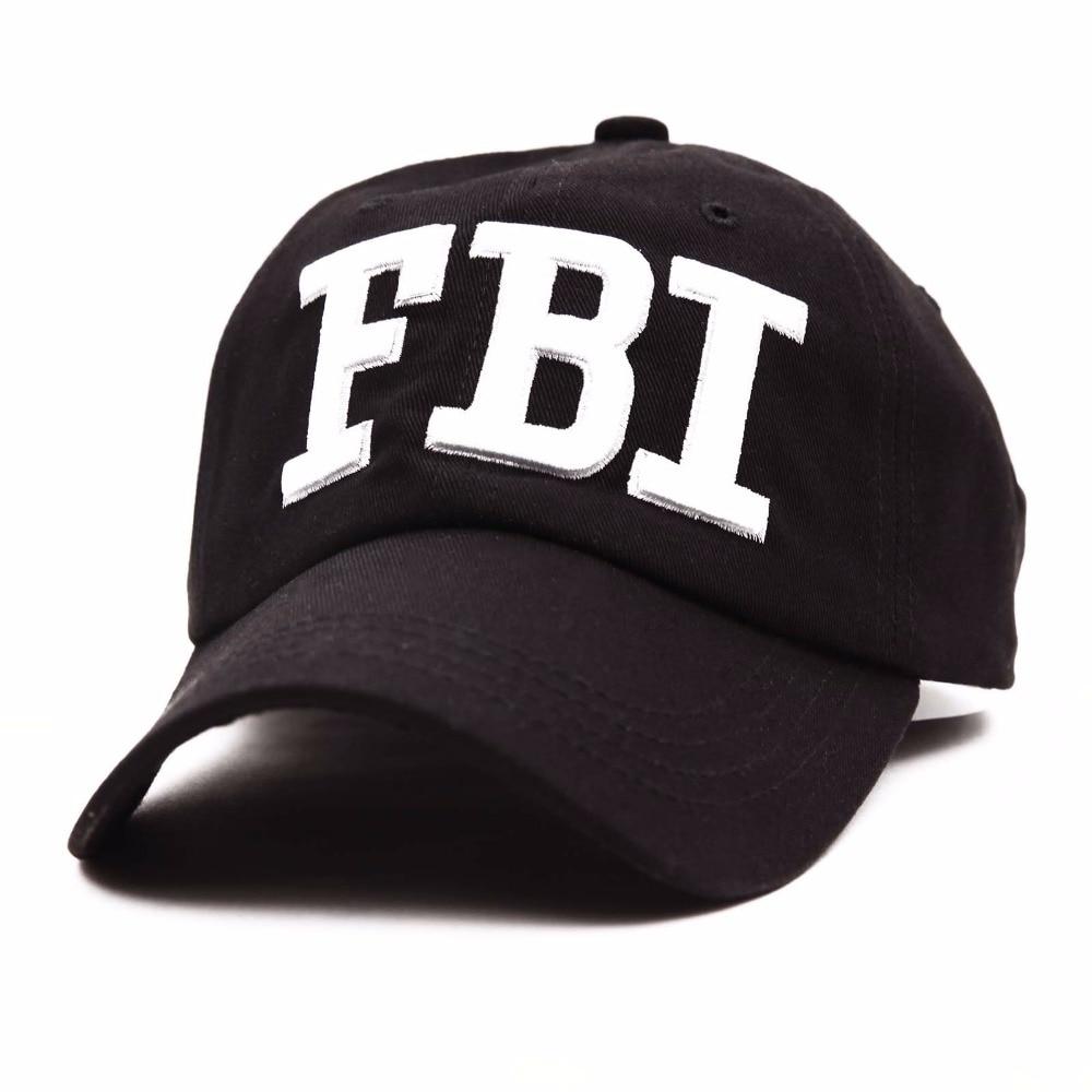 4c0a9fc89 Unisex Letter FBI Baseball Cap Snapback Fashion Hat for Men & Women
