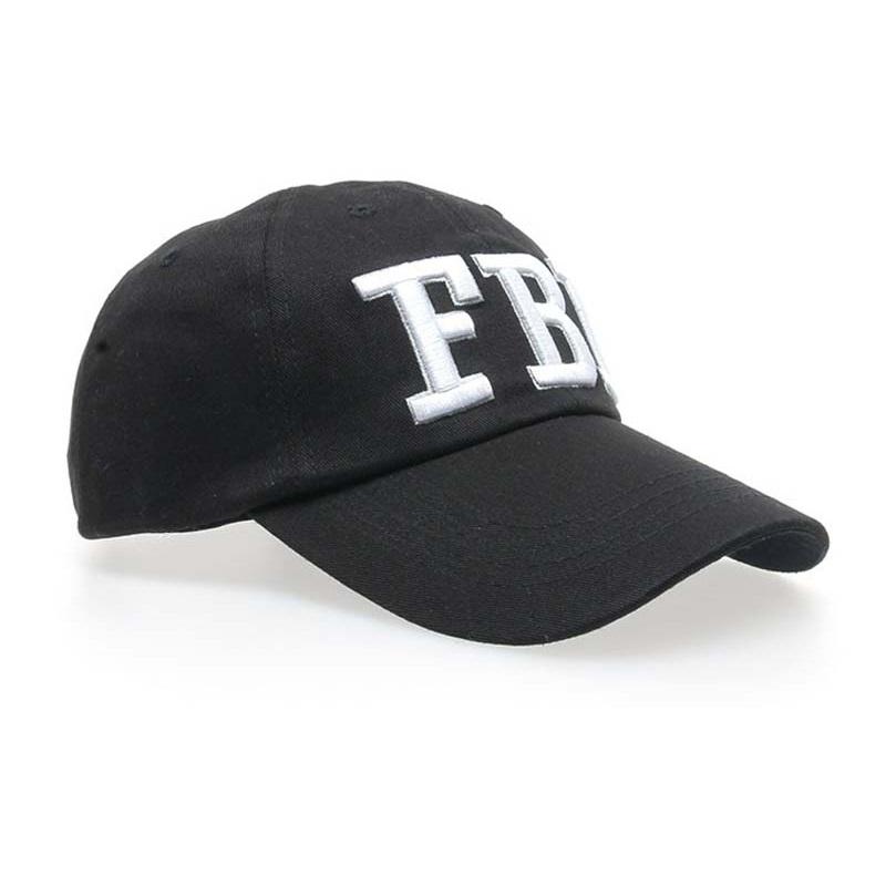 Unisex Letter FBI Baseball Cap Snapback Fashion Hat for Men   Women ... 03abc585f45