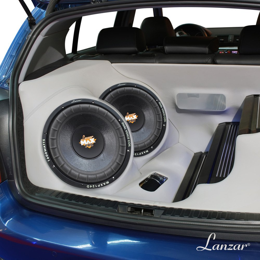Lanzar MAXP124D Max Pro 12-Inch 1600 Watt Small Enclosure
