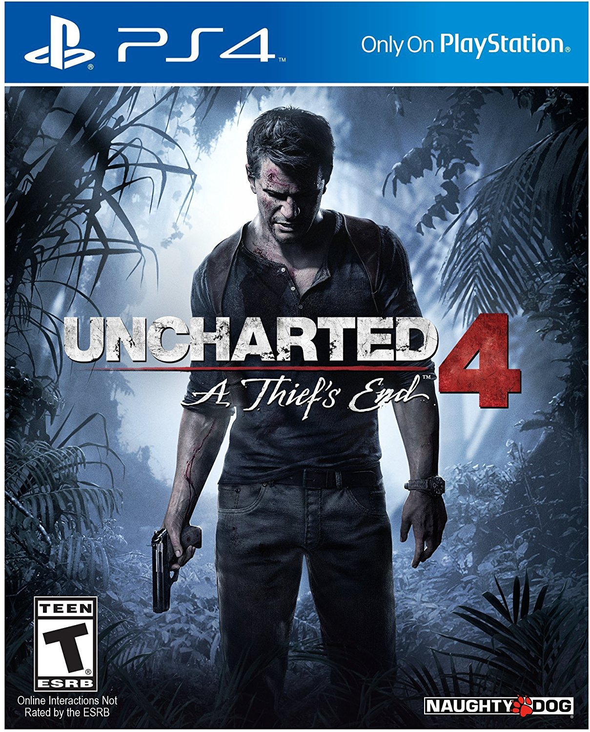 uncharted 4 a thief 39 s end playstation 4 ps4 for sale in. Black Bedroom Furniture Sets. Home Design Ideas