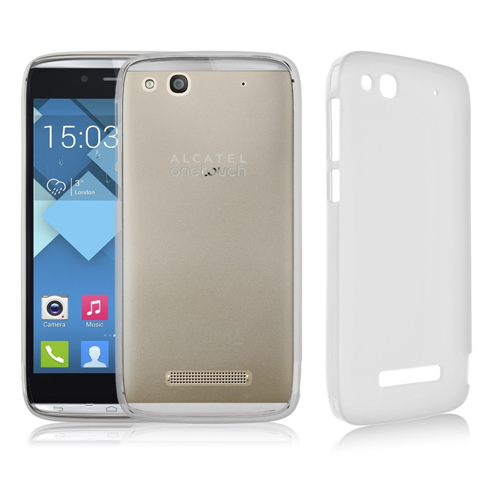 best website e789c 4bbbe Alcatel One Touch Idol Alpha Soft TPU Snap On Case For 6032A 6032X