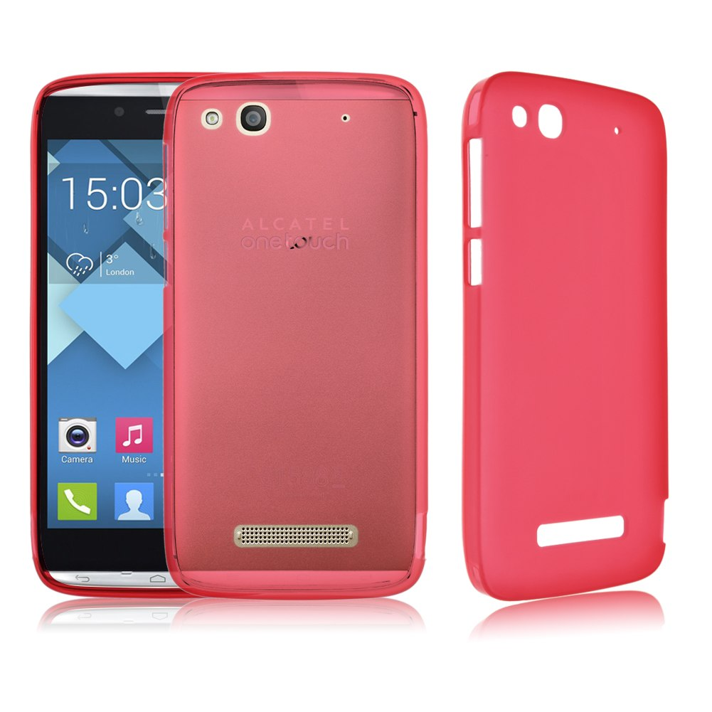 Alcatel one touch idol alpha soft tpu snap on case for