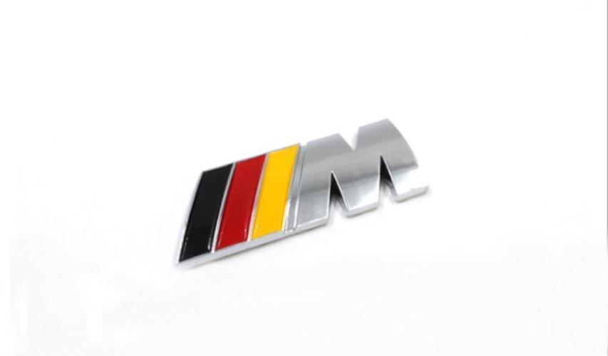 bmw m power badge motorsport metal logo car emblem chrome decal fits rh jadeals com mpower logistics mpower logic inc