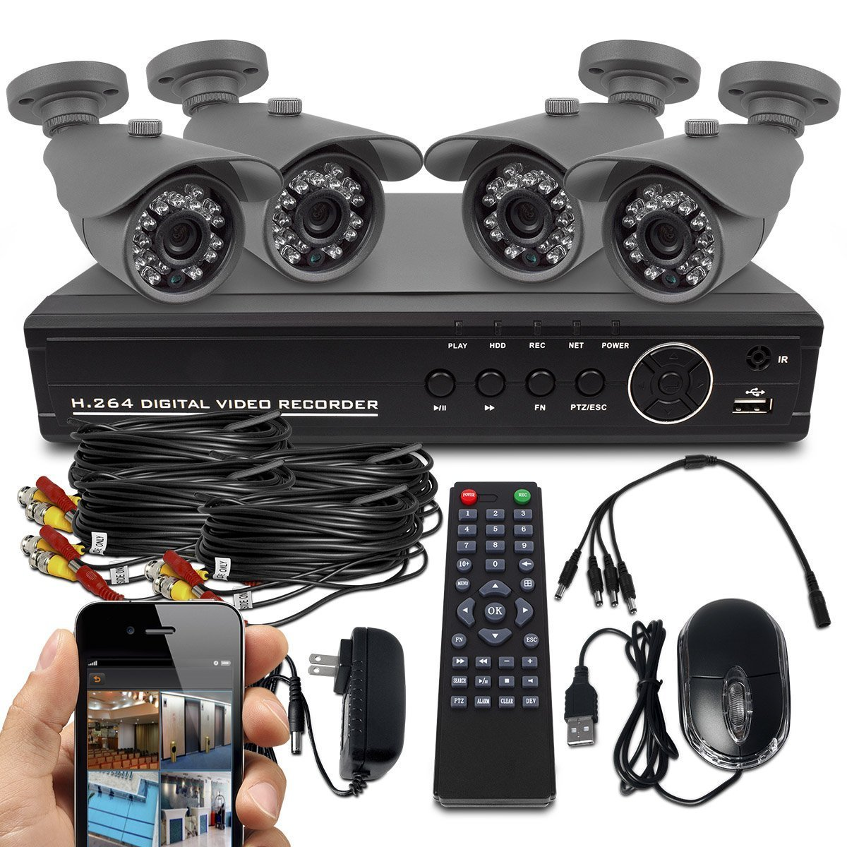 Best Home Security Camera System With Dvr