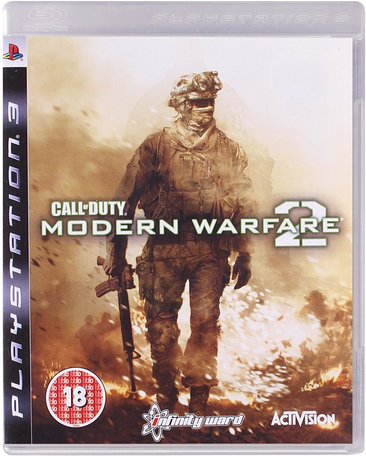 Playstation 3 Ps3 Call Of Duty Modern Warfare 2 For Sale