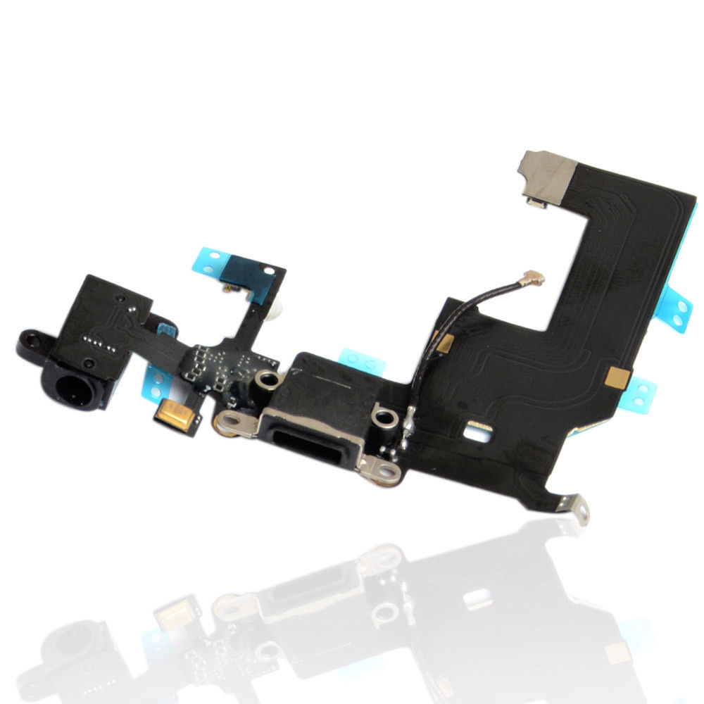 Iphone 5 5G Charging Port Dock Connector headphone Flex