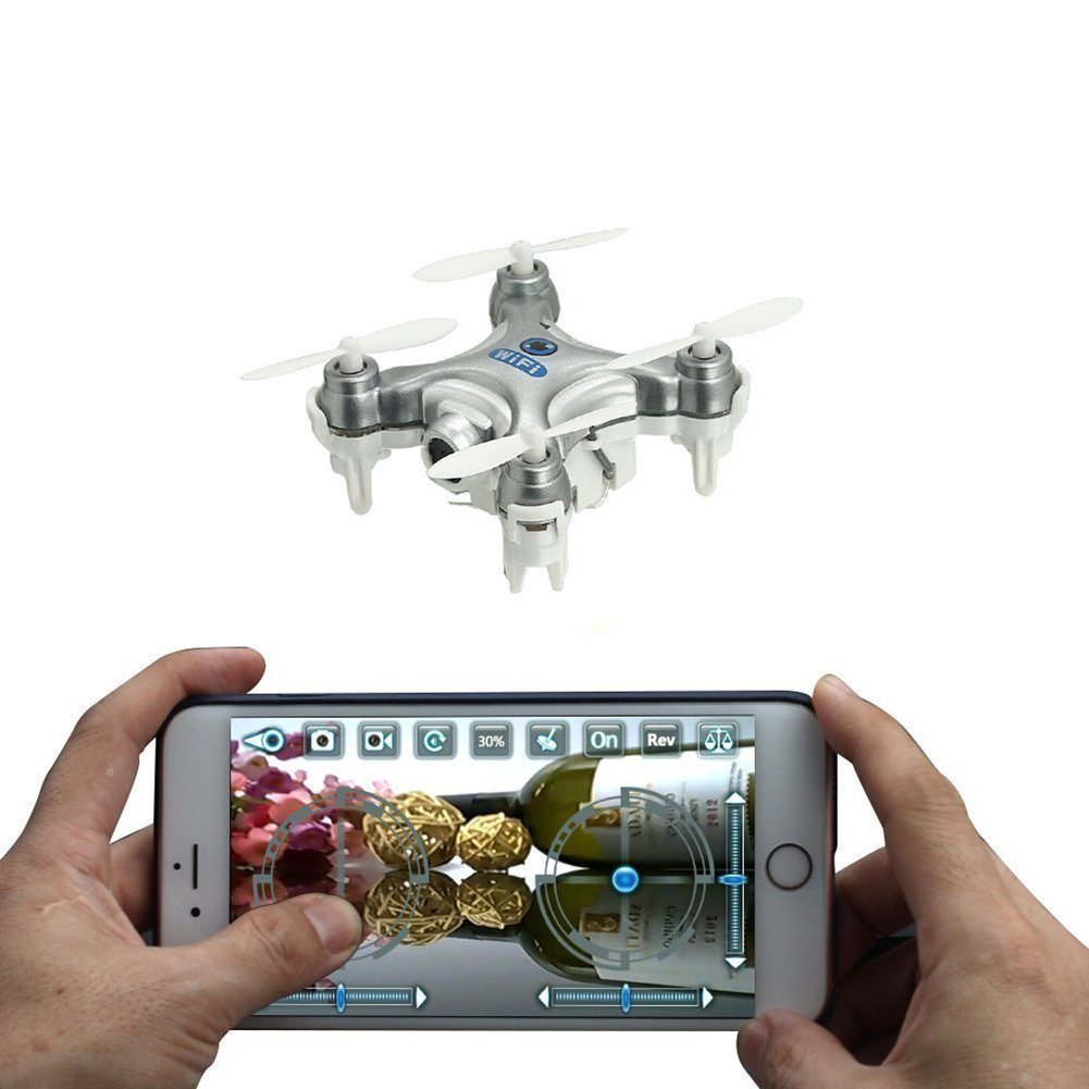 Cheerson CX-10W 4CH 2 4GHz Wifi Remote Control FPV Real Time Video Mini  Quadcopter Helicopter Drone UFO with 0 3MP HD Camera