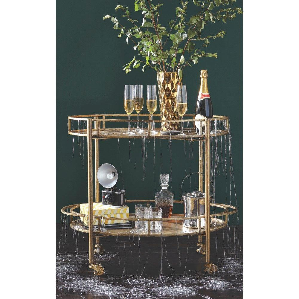 gold bar cart eliza gold bar cart for in jamaica jadeals 31166