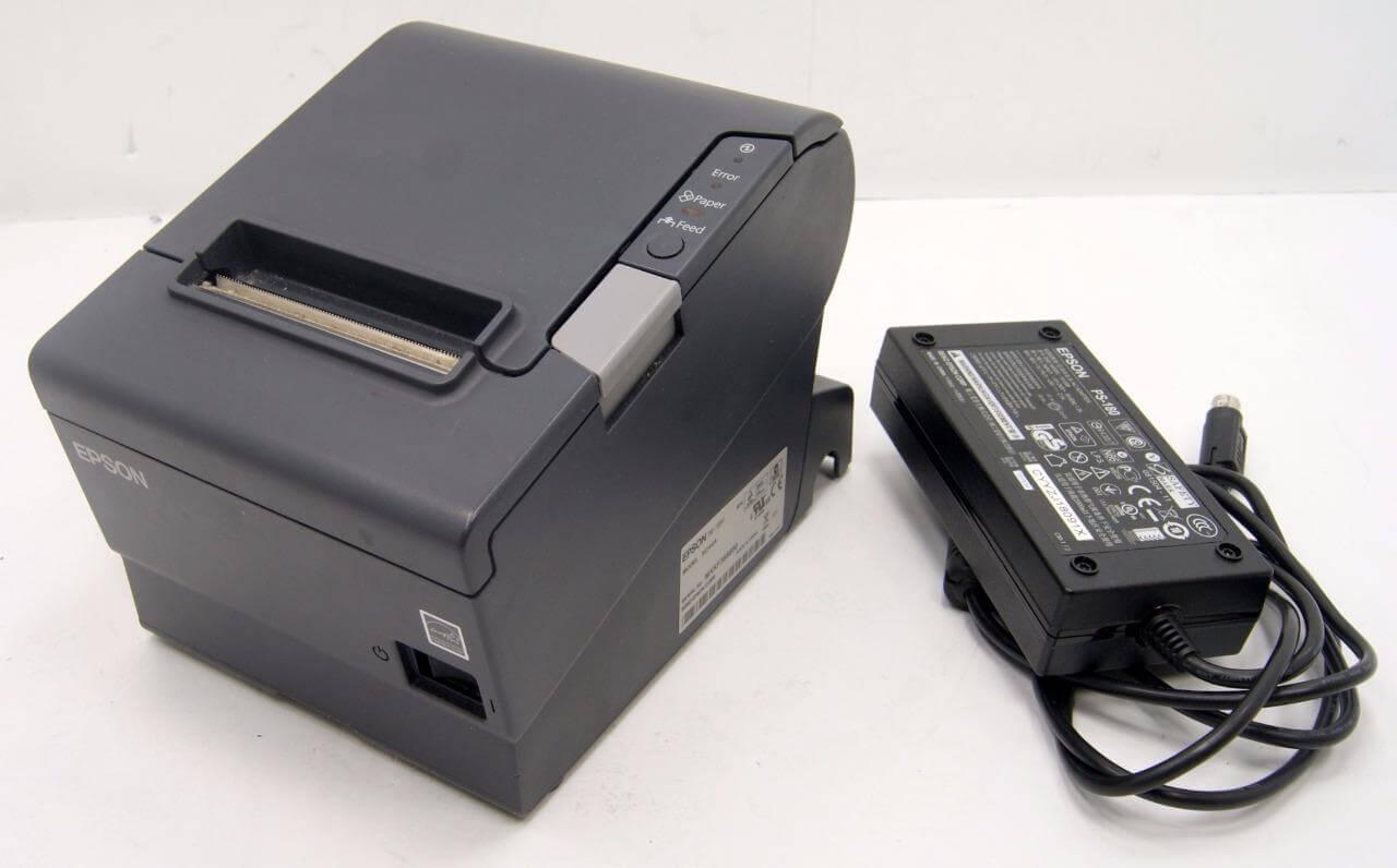 Epson TM-T88V M146A Model M244A POS USB/Parallel Cashier Receipt Printer
