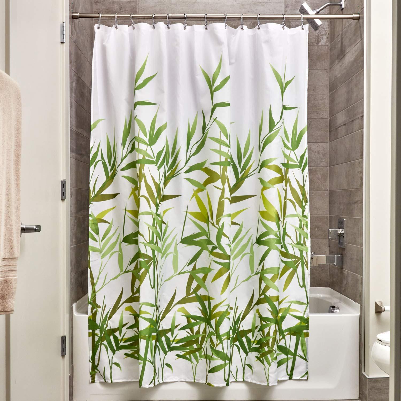 Interdesign 36524 Anzu Fabric Shower Curtain