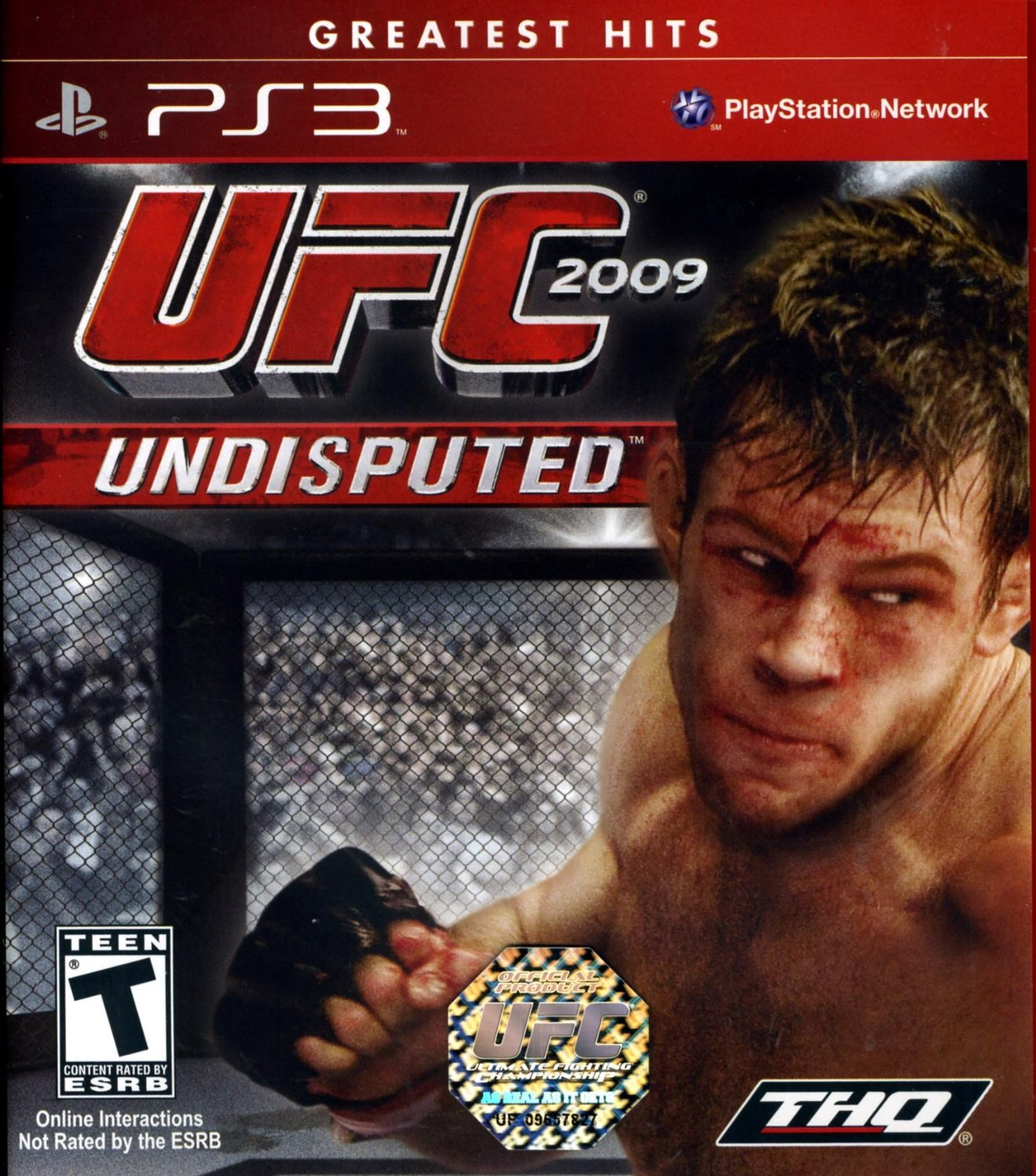 Playstation 3 (PS3) UFC Undisputed 2009 for sale in ...
