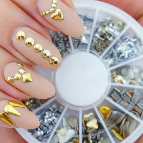Professional High Quality Manicure 3d Nail Art Decorations By Vaga