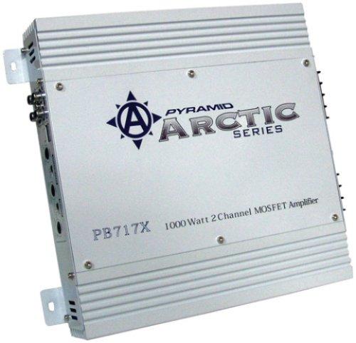 Pyramid PB717X 1000 Watt 2 Channel Bridgeable Amplifier pyramid pb717x 1,000 watt 2 channel bridgeable amplifier for sale