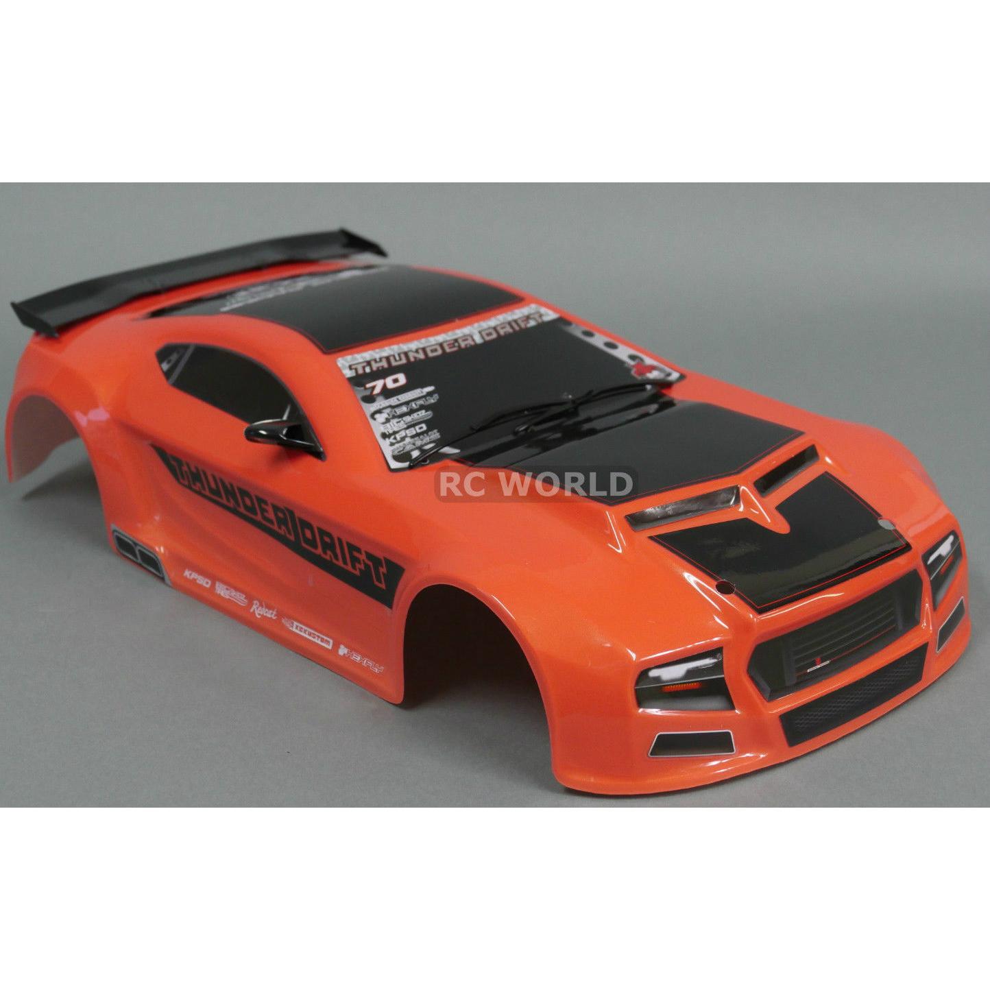 1/10 RC Car Thunder Drift Body Shell For Sale In Jamaica