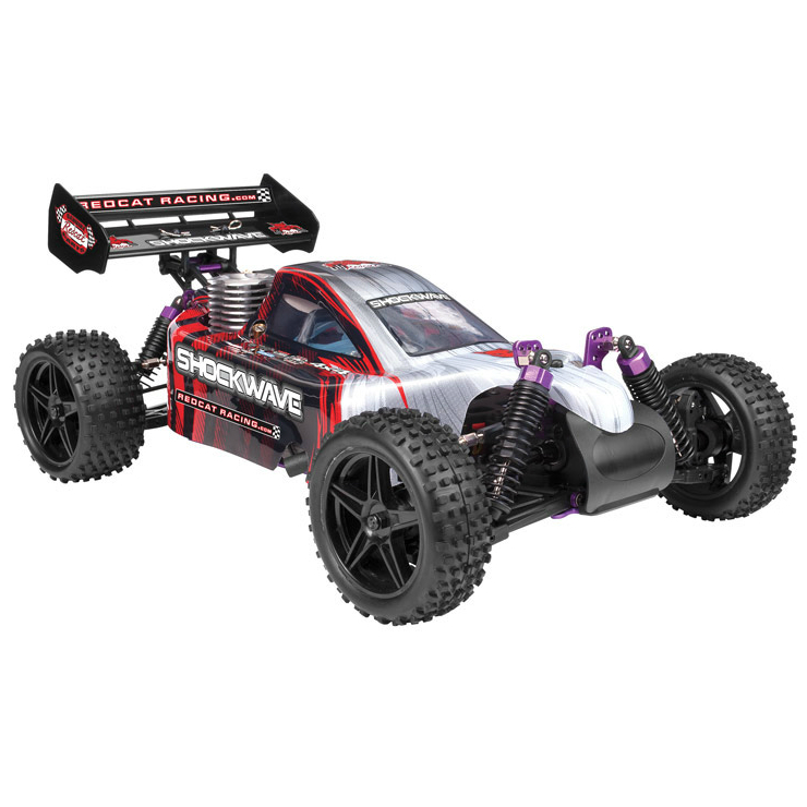 Nitro R C Cars Engine Tuning Secrets: Redcat Racing Shockwave Nitro Engine Buggy Car 1:10 Scale