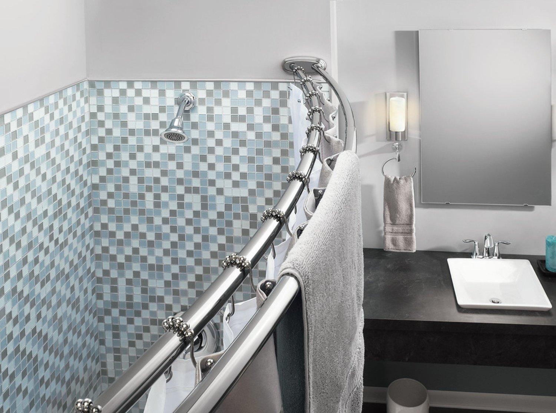 Rustproof Stainless Steel Heavy Duty Roller Double Glide Bathroom Shower Curtain Ring Hooks By Wihama