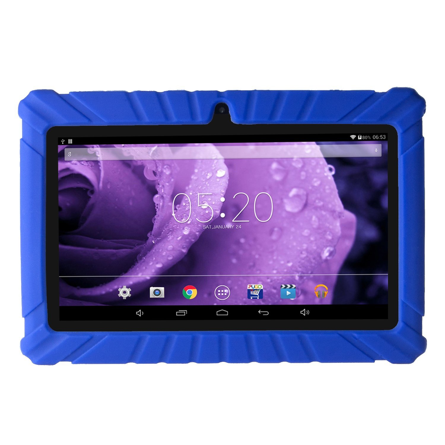 Silicone Rugged Anti Slip Rubber Cover Case For 7 Inch