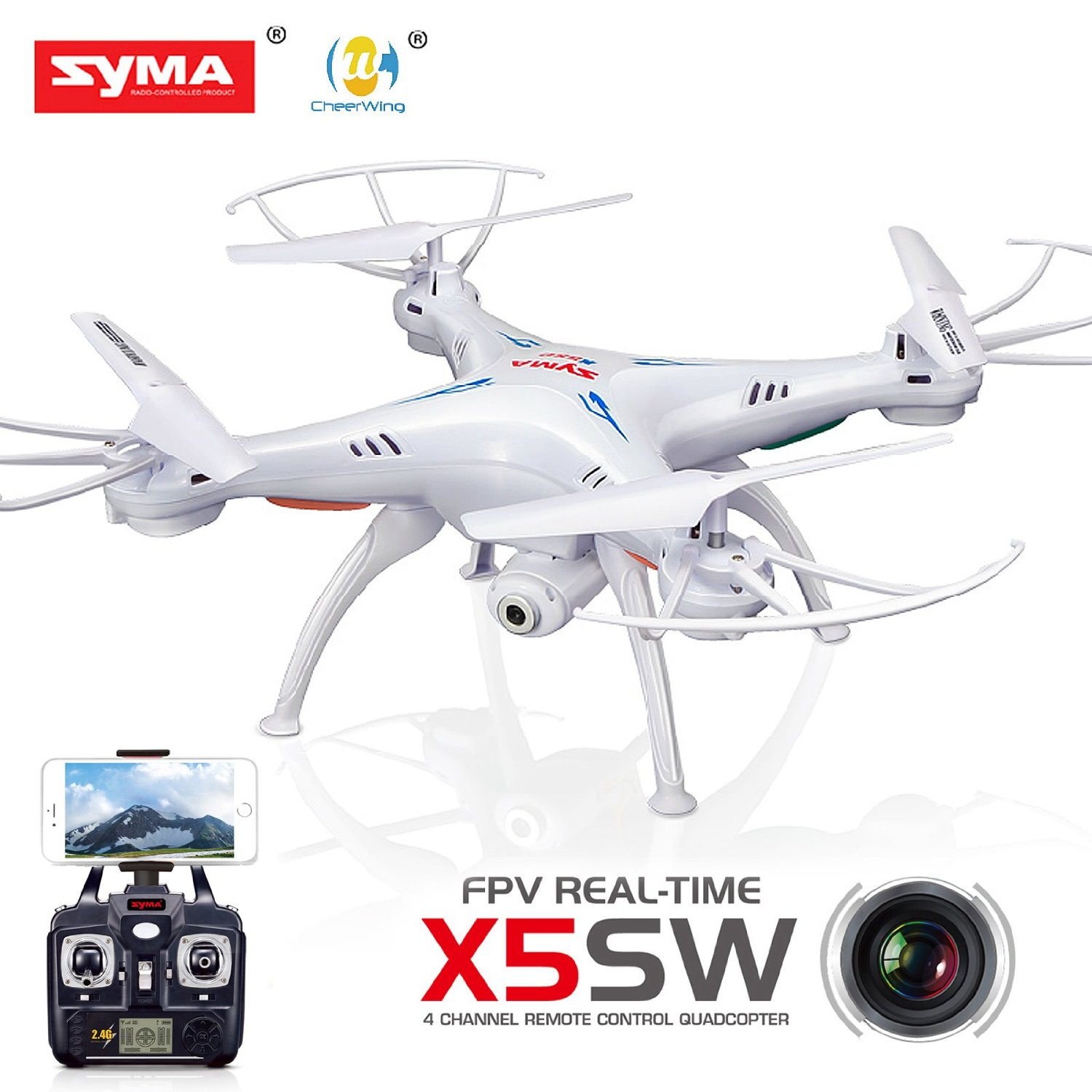 drone quad with Syma X5sw Explorers2 Drone Fpv Hd Wifi Camera 2 4ghz 4ch 6 Axis Gyro With Headless Mode on Dji cp pt 000731 spark quadcopter alpine white in addition Wingcopter Fixed Wing Airplane Quadcopter Fusion Vtol Uav besides 537193 Testing Dji Phantom 3 Pro Quadcopter further Syma X5sw Explorers2 Drone Fpv Hd Wifi Camera 2 4ghz 4ch 6 Axis Gyro With Headless Mode further Dji Matrice 210 R  G Quadcopter Cp Hy 000065 Dji.
