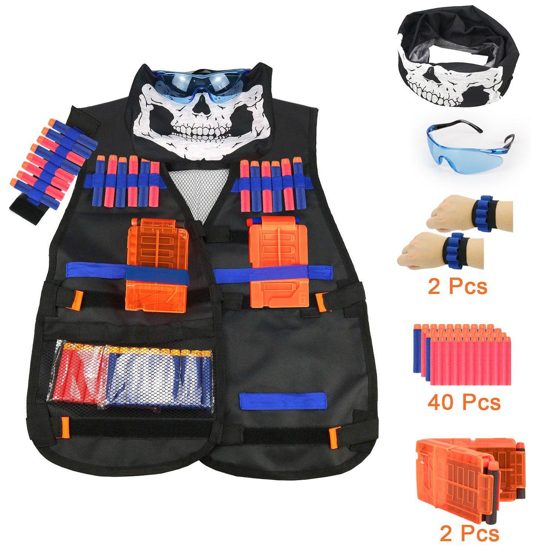 Tactical Vest Kit For Nerf Guns N Strike Elite Series By