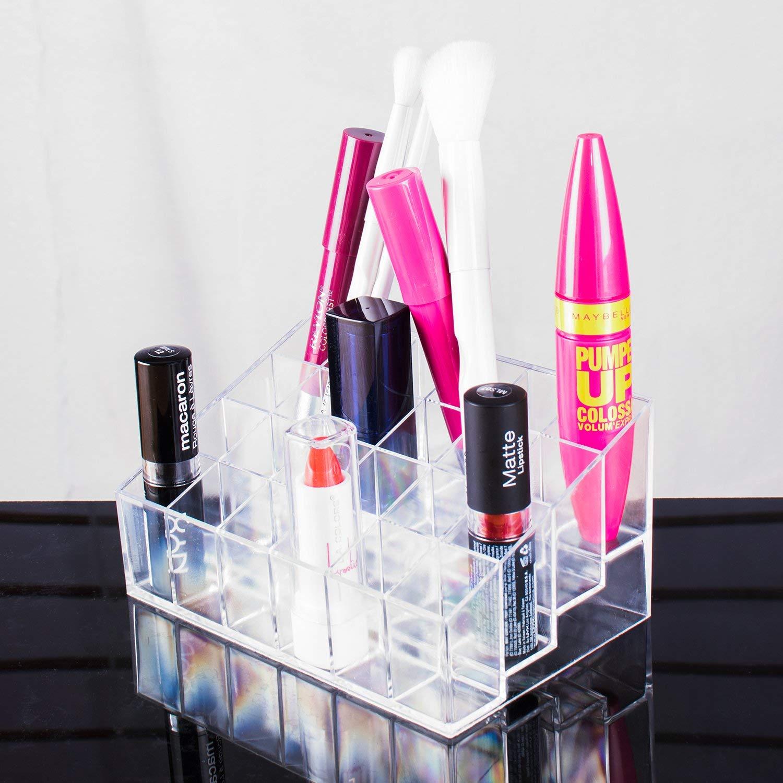 429199b76ee9 Transparent Cosmetic Makeup Organizer/Rack Holder