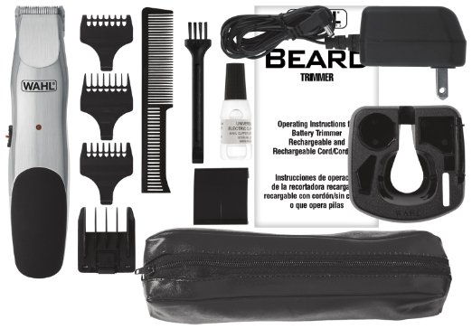 wahl beard cordless rechargeable trimmer for sale in jamaica. Black Bedroom Furniture Sets. Home Design Ideas