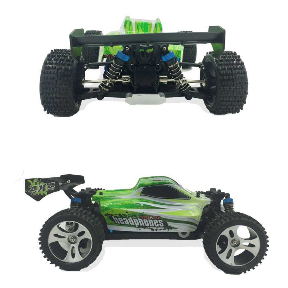 4 Wheel Drive Buggy : Fast electric km h remote control rc toy car wd