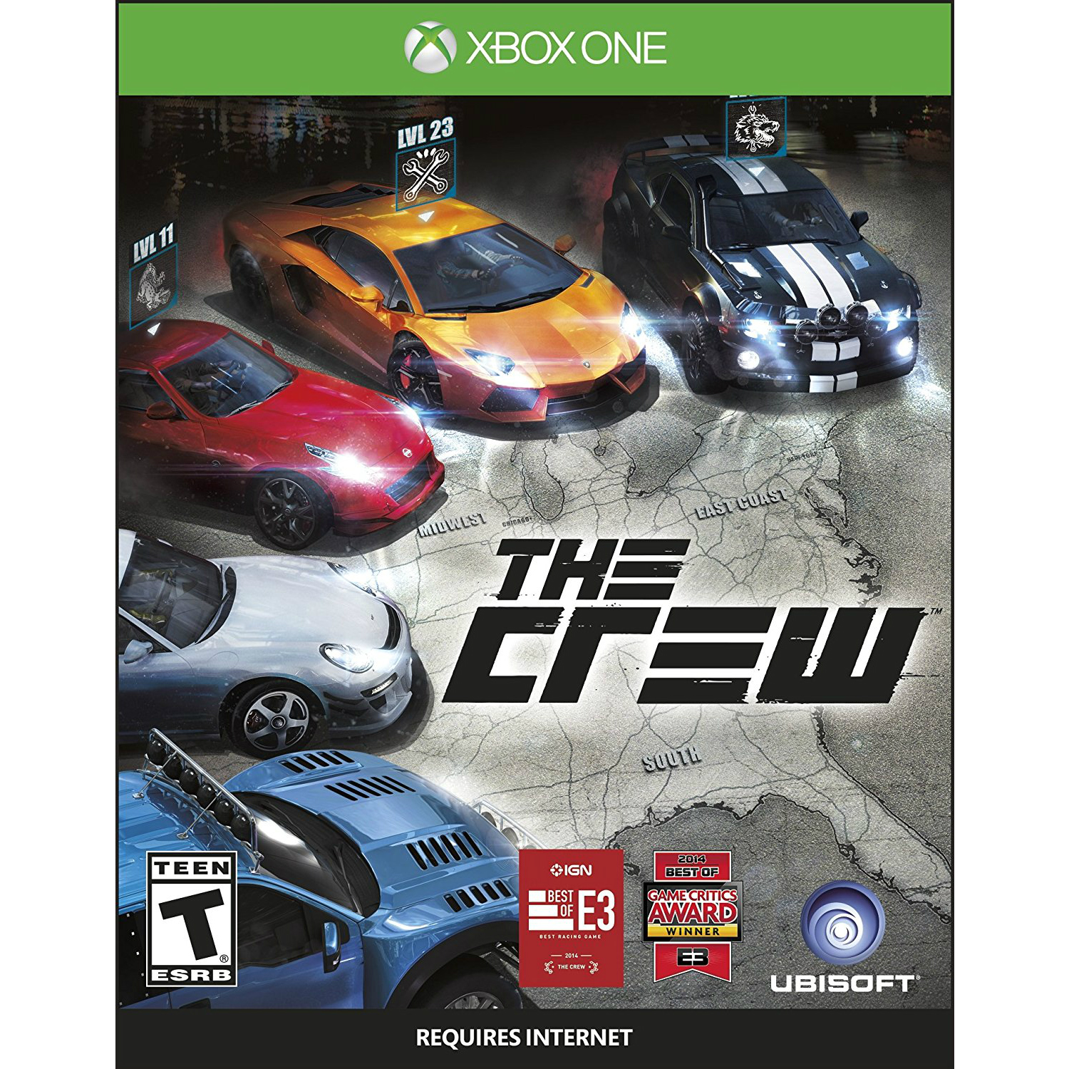 xbox one the crew for sale in jamaica. Black Bedroom Furniture Sets. Home Design Ideas
