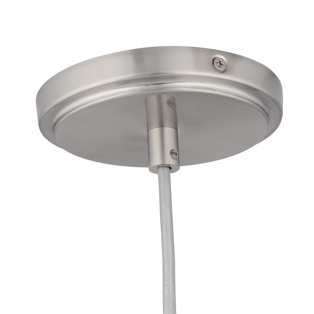 Hampton Bay 86 In 1 Light Brushed Nickel Pendant Track