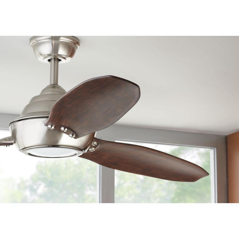 Aero Breeze 60 In Integrated Led Indoor Outdoor Brushed