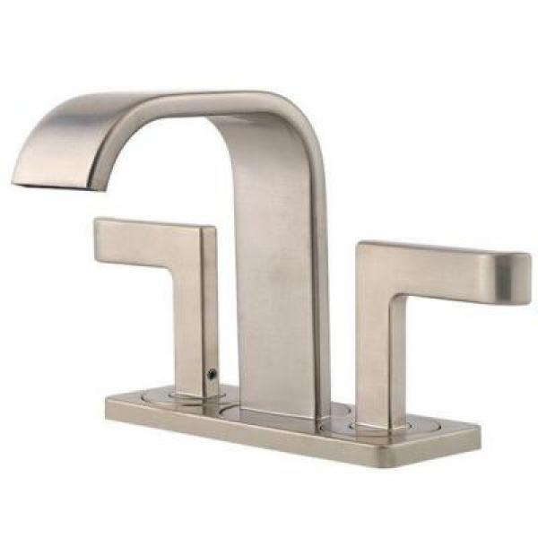 4 inch center bathroom faucet. Pfister Skye 4 In  Centerset 2 Handle High Arc Bathroom Faucet