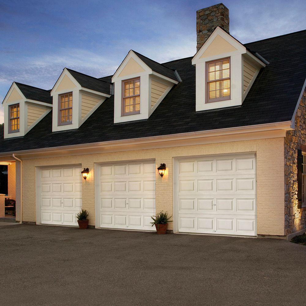 Clopay premium series 9 ft x 7 ft 18 4 r value for 18 ft garage door for sale