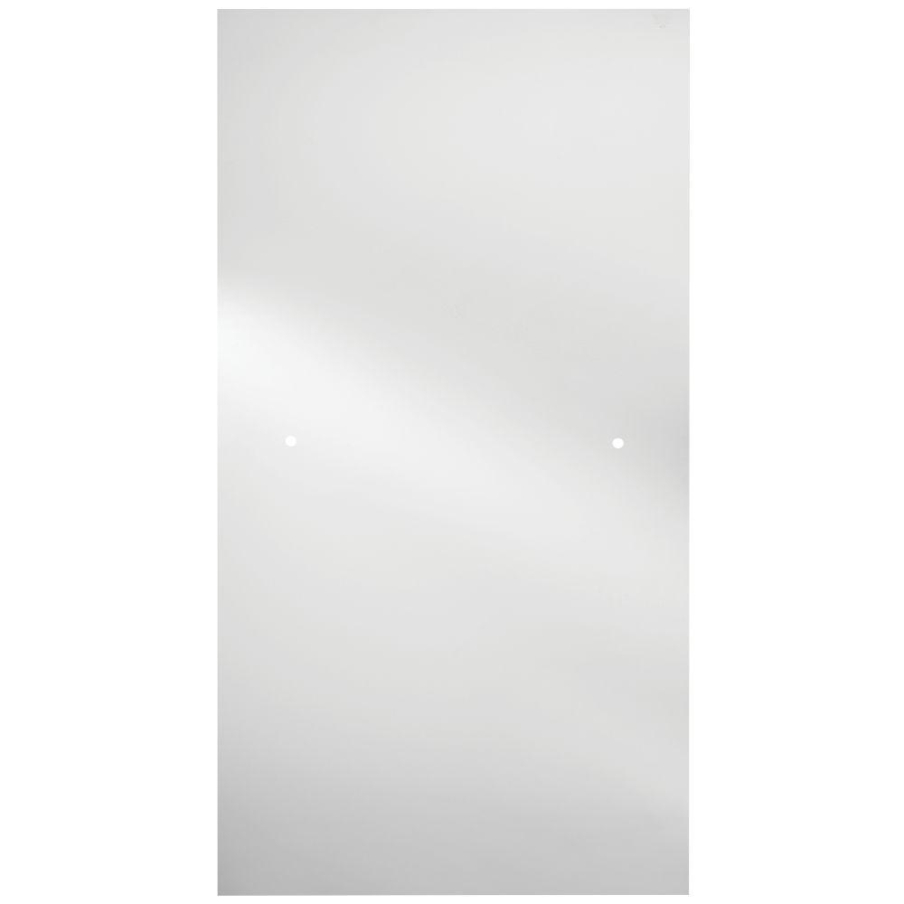 Delta 36 In Semi Frameless Contemporary Pivot Shower Door