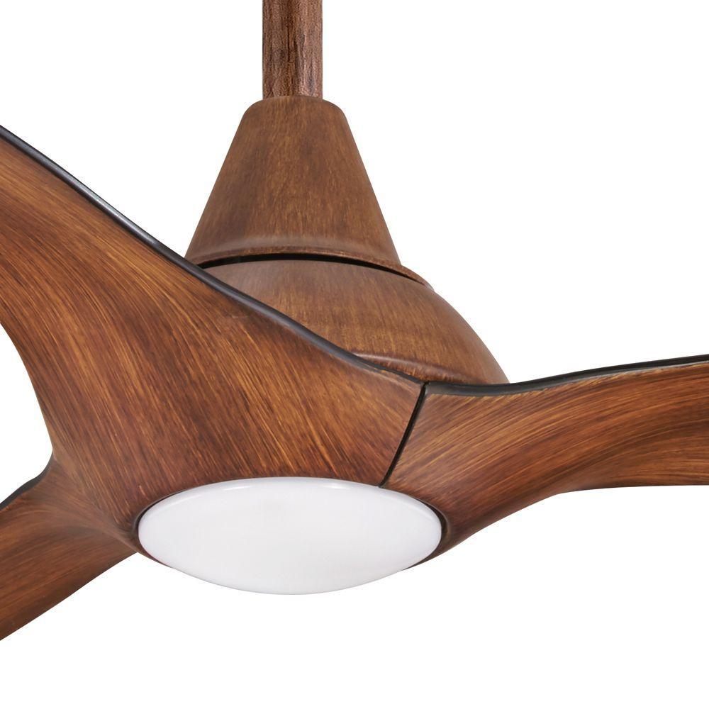 Tidal Breeze 56 In Led Indoor Distressed Koa Ceiling Fan