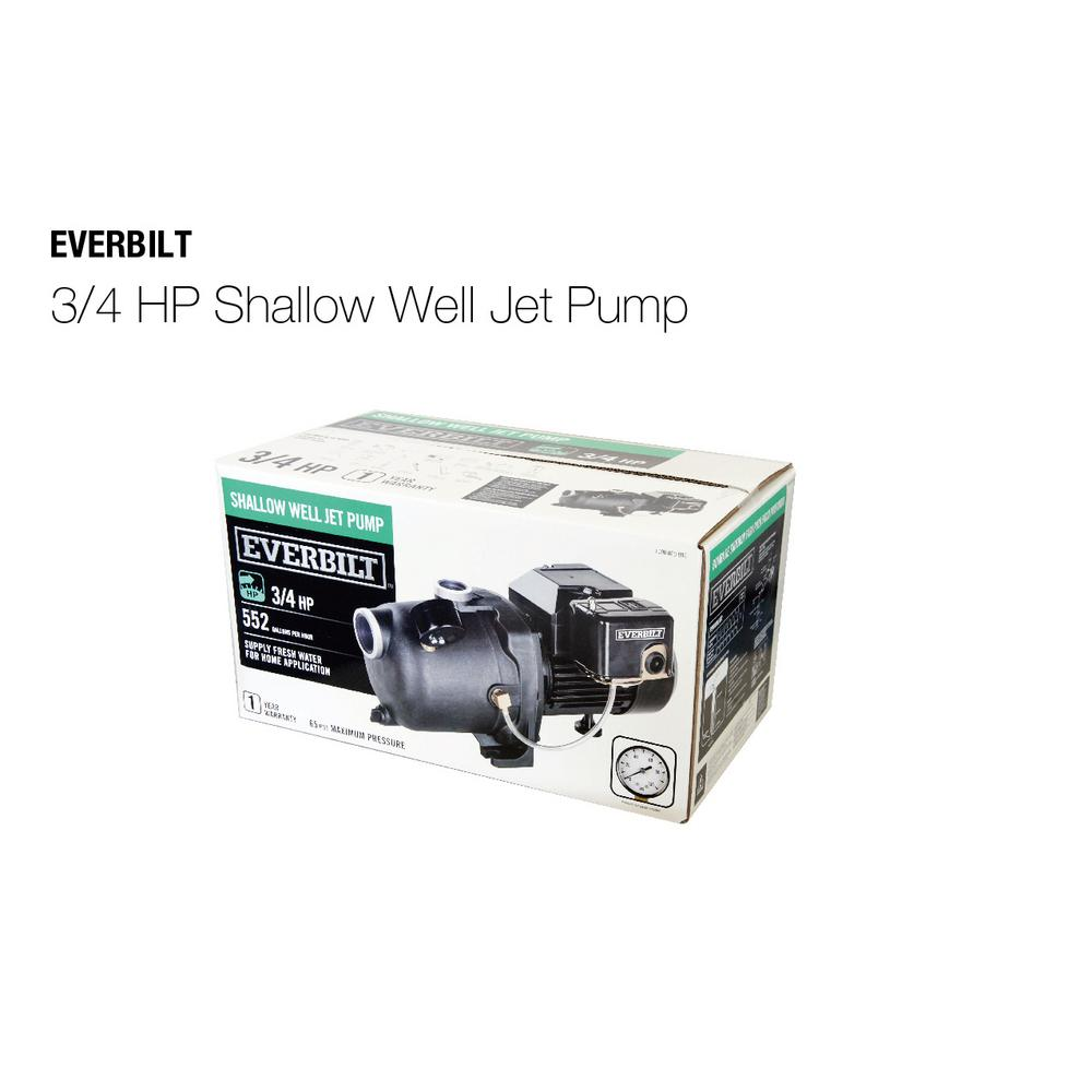 Everbilt 3 4 Hp Shallow Well Jet Pump For Sale In Jamaica
