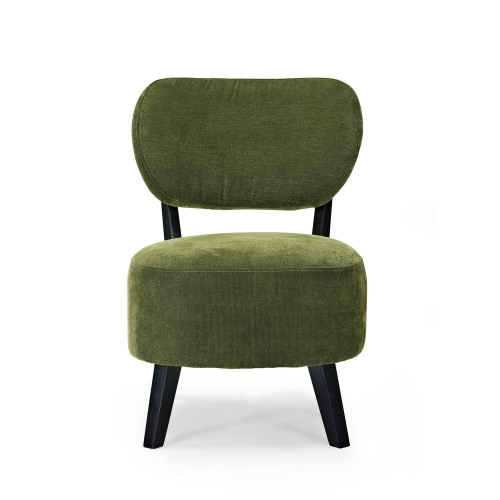 Futuristic Green Accent Chair Painting