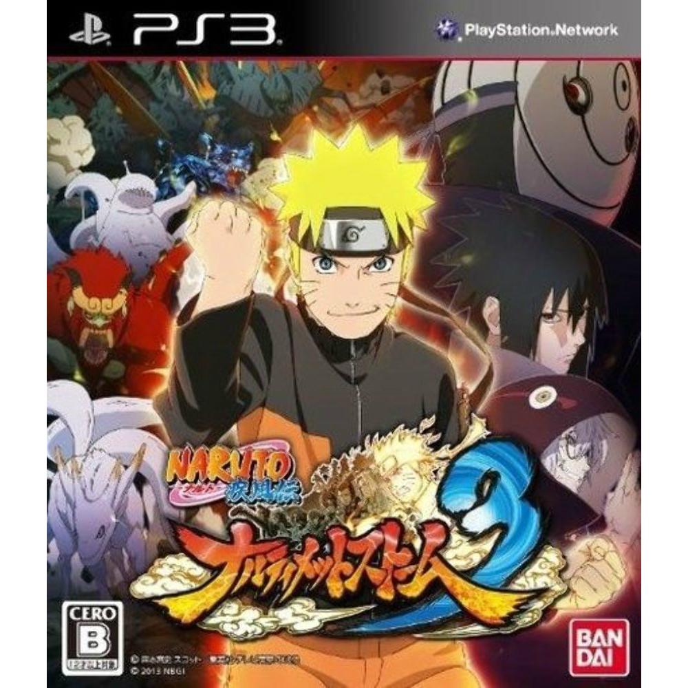 Sony PlayStation 3 (PS3) -Naruto Shippuden: Ultimate Ninja