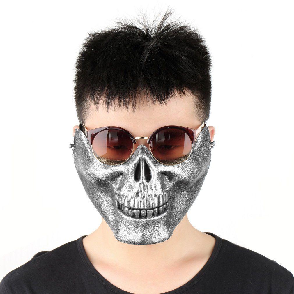 Half Face Skeleton Skull Mask for sale in Jamaica ...