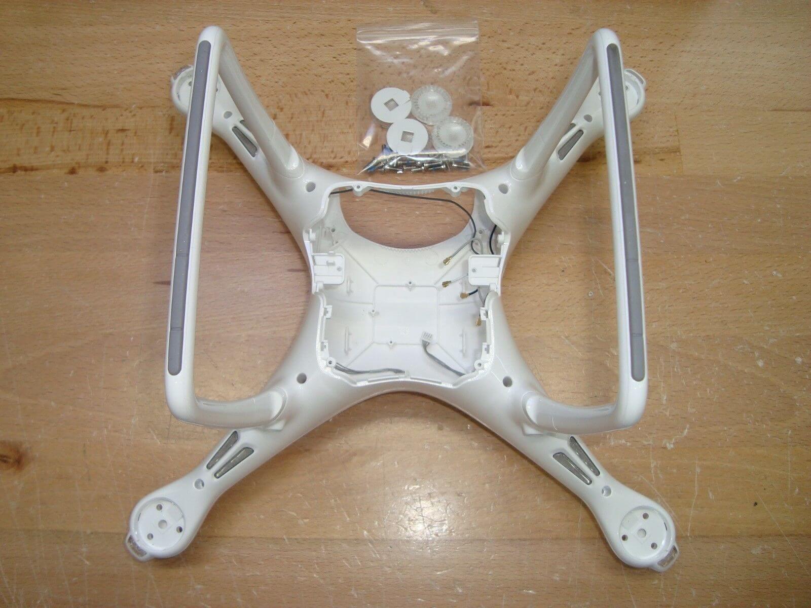 DJI Phantom 4 Body Shell Top /& Bottom Cover Landing Gear Antenna
