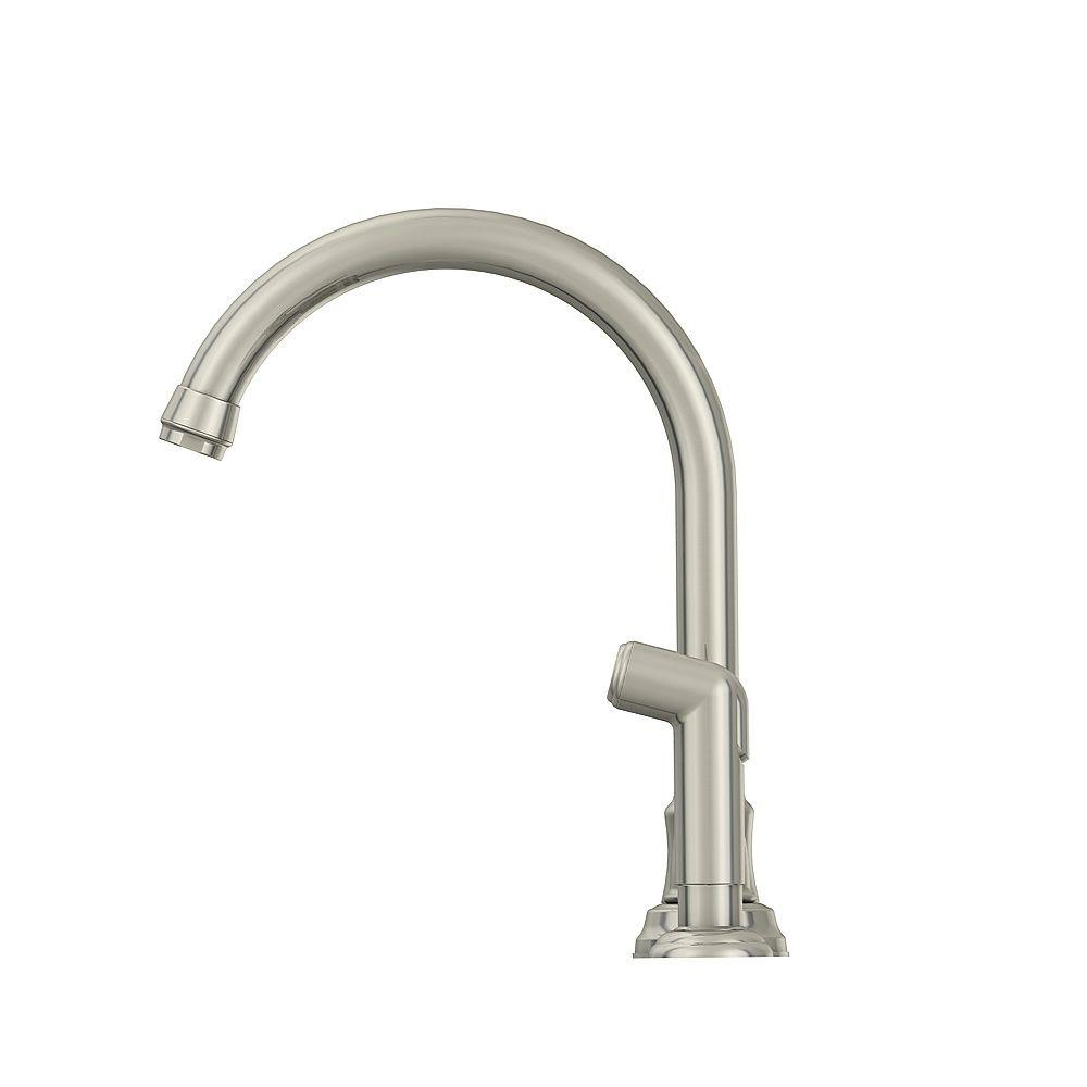 Glacier Bay Builders  Handle Standard Kitchen Faucet With Sprayer