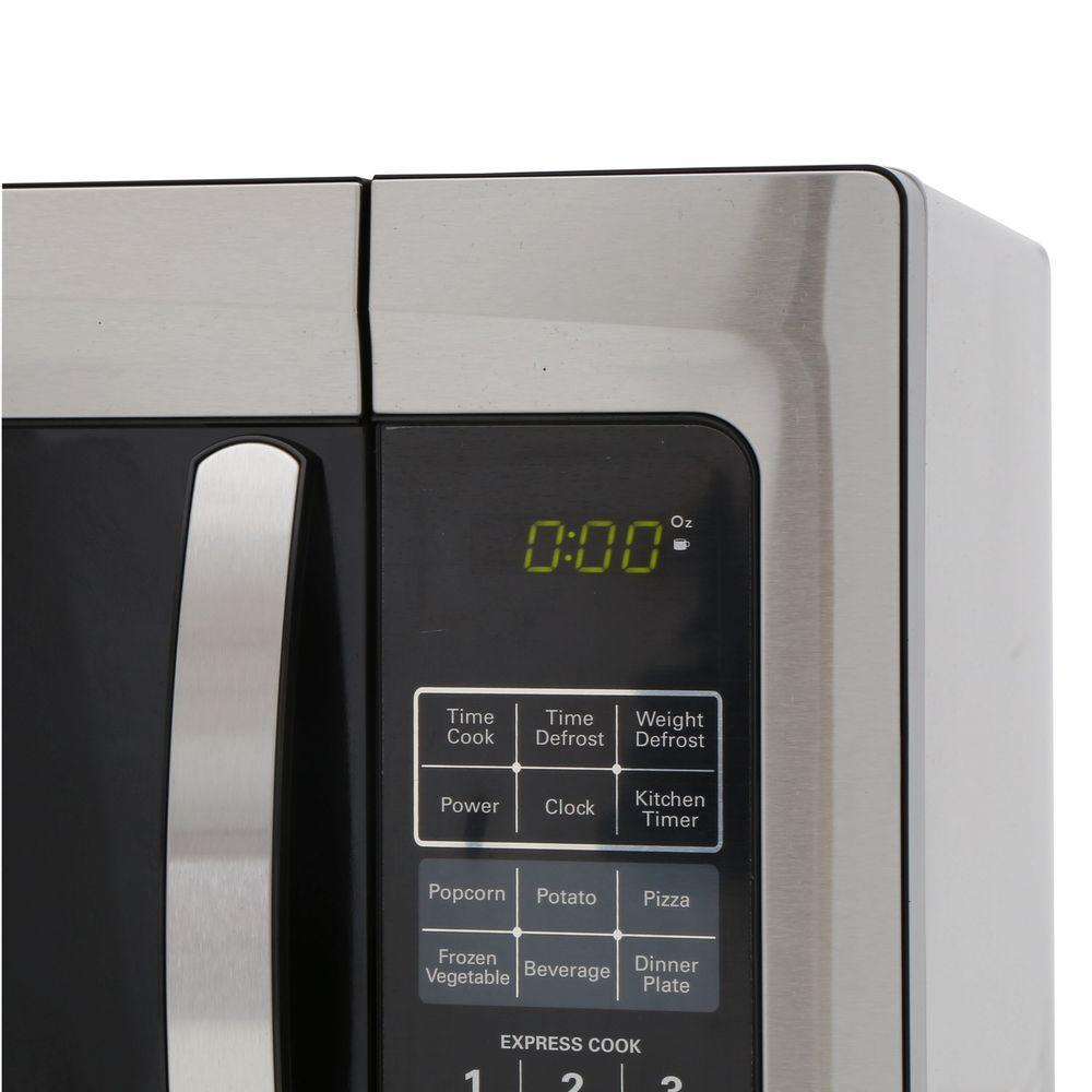 Magic Chef 1 6 Cu Ft Countertop Microwave In Stainless